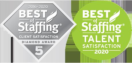 award winning staffing in New Jersey & New York