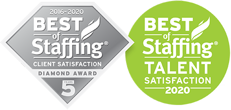 award winning staffing in New Jersey & New York